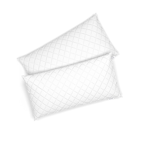 VitaliSpa 2er Set Microfaser Kopfkissen 40 x 80 cm Allergiker geeignet Kissen - Bild 1