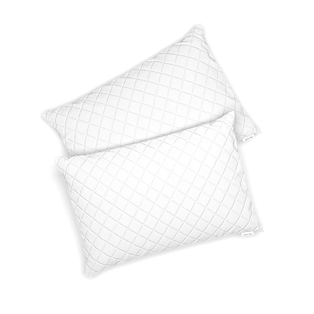 VitaliSpa 2er Set Microfaser Kopfkissen 50 x 75 cm Allergiker geeignet Kissen - Bild 1