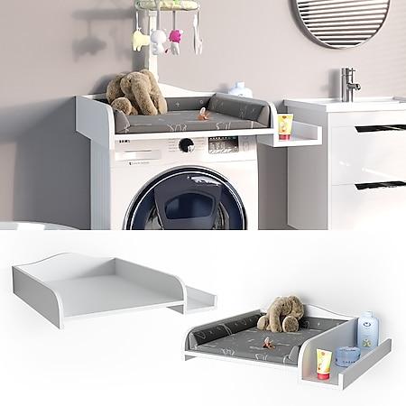Vicco Wickelaufsatz Wickelauflage mit Ablage Wickeltischaufsatz Waschmaschine - Bild 1