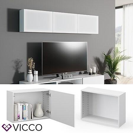 VICCO Schrank COMPO M6 weiß Regal Aktenschrank Bücherregal Standregal Büro - Bild 1