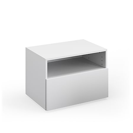 VICCO Schrank COMPO Schubladenschrank Aktenschrank Büro Wohnzimmer weiß - Bild 1