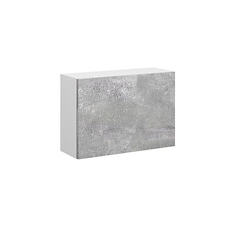 VICCO Schrank COMPO Aktenschrank Bücherregal Büroregal Standregal weiß beton - Bild 1
