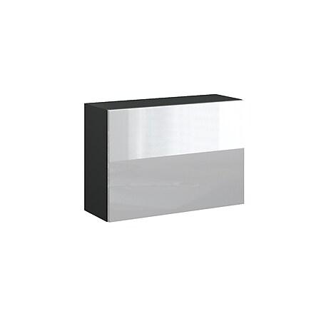 VICCO Schrank COMPO Aktenschrank Bücherregal Büroregal weiß anthrazit weiß hochglanz - Bild 1