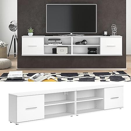 Vicco Lowboard Wandregal Fernsehschrank Nika 2er Set hängend stehend montierbar - Bild 1