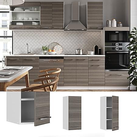 VICCO Hängeschrank 30 cm Edelgrau Küchenschrank Oberschrank Küchenzeile Fame-Line - Bild 1