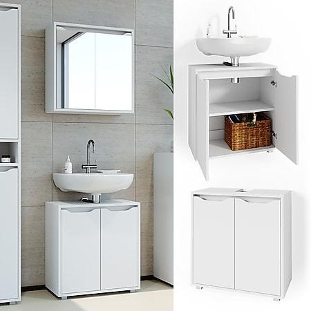 Vicco Waschtischunterschrank Badschrank Waschbeckenunterschrank Ruben Waschtisch - Bild 1