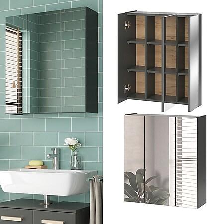 Vicco Spiegelschrank Badspiegel Wandspiegel Hans Spiegel Badezimmer Badschrank - Bild 1