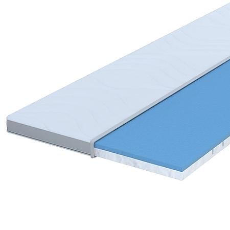 7 Zonen Premium Viskoelastik Matratzentopper Seaqual... 180 x 200 cm - Bild 1