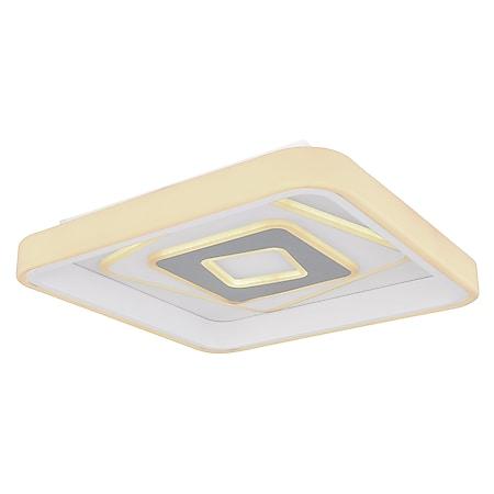 Globo Lighting PESARO Deckenleuchte Metall weiß, 1xLED - Bild 1