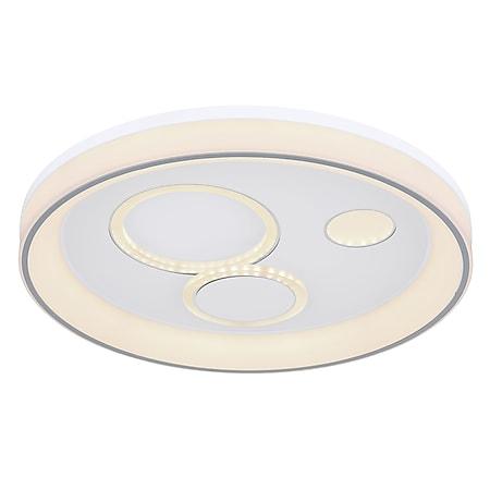 Globo Lighting ROBA Deckenleuchte Metall weiß, 1xLED - Bild 1