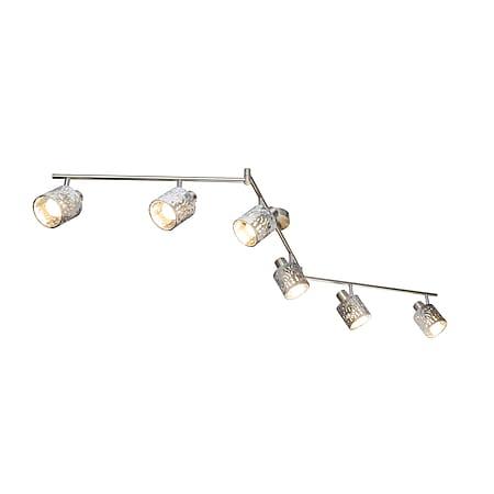 Globo Lighting ALYS Strahler Metall nickel matt, 6xE14 - Bild 1