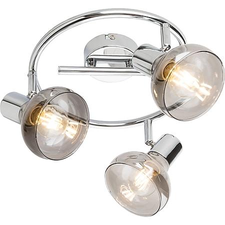 Globo Lighting LOTHAR Strahler Chrom, 3xE14 - Bild 1