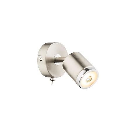 Globo Lighting COMORE LED Strahler Metall nickel matt, 1xLED - Bild 1