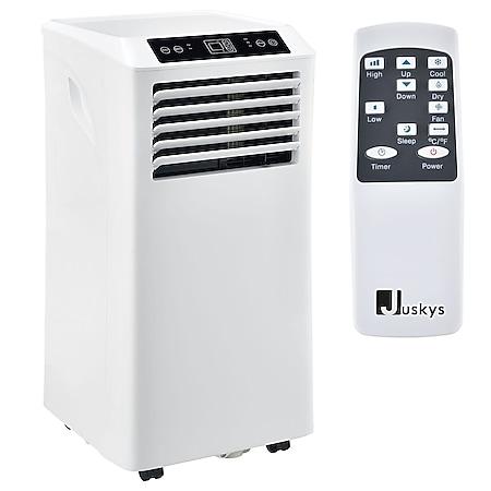 Juskys Lokales Klimagerät MK950W2 mit Fernbedienung & Timer - 9000 BTU – 3in1 Klimaanlage Kühlung - Bild 1