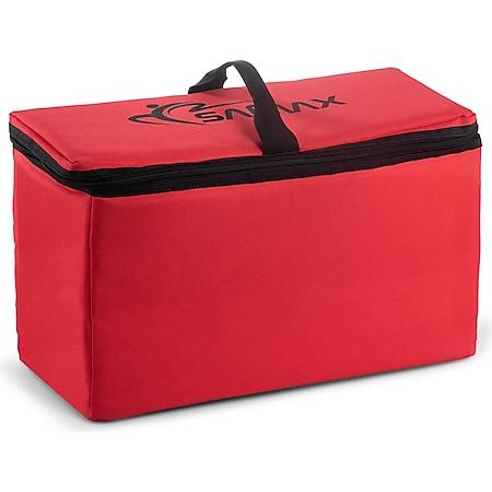 SAMAX Kühltasche für Bollerwagen Offroad 42x19x24 cm - Rot - Bild 1