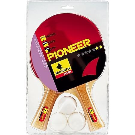 Bandito Tischtennis Schläger-Set Pioneer ** - Bild 1