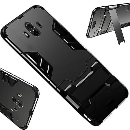 Metal Style Hybridcase Schwarz Samsung Galaxy J4 Plus J415F - Bild 1