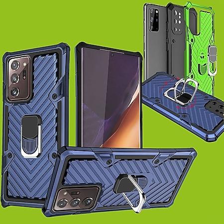 Armor Magnet Case Blau für Apple iPhone 12 Pro und 12 6.1 Zoll - Bild 1