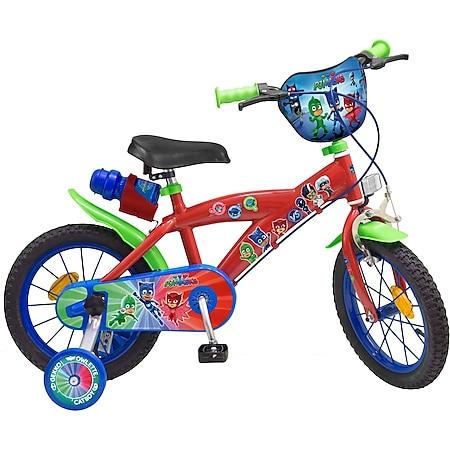 14 Zoll Kinder Rad Kinderfahrrad Fahrrad Rad PJ Masks Pyjama Kinder Fahrrad - Bild 1