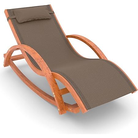 Schaukel- und Liegestuhl Rio, 170x70 cm, mit Kopfkissen - Bild 1