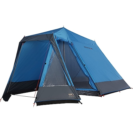 HIGH PEAK Firstzelt Colorado 180 4 Personen Familienzelt Haus Zelt Camping groß - Bild 1
