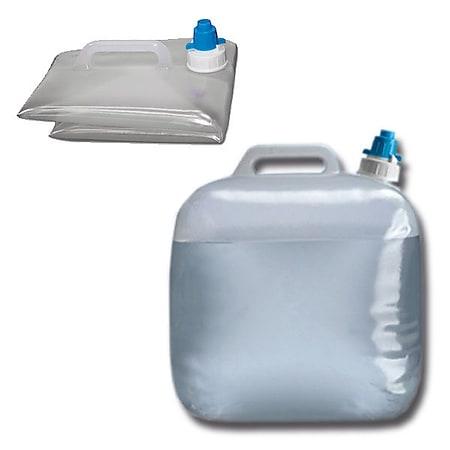 OUTDOOR 15L Faltkanister - Camping Wasser Behälter Trinkwasser Kanister faltbar - Bild 1