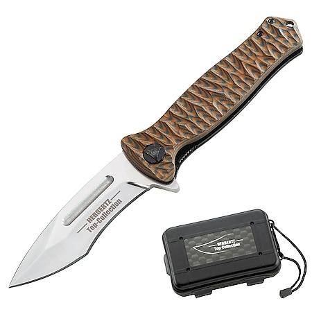 HERBERTZ Top Collection Einhandmesser 440 Taschenmesser Klappmesser G-10 Messer - Bild 1