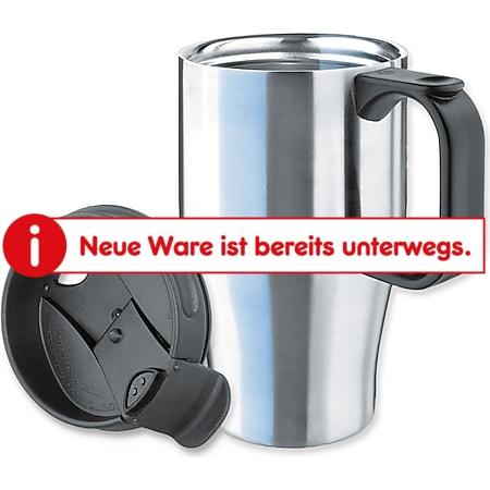 ISOSTEEL 400 ml Thermobecher - Kaffee Autobecher Isolierbecher Schraubverschluss - Bild 1