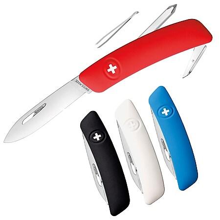 SWIZA Schweizer Messer D02 - 4 Farben Taschenmesser Klappmesser 6 Funktionen Farbe: blau - Bild 1