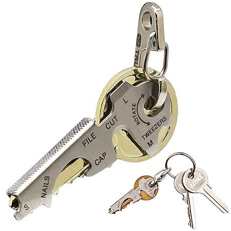 TRUE UTILITY Mini Schlüssel Multitool - Schlüsselanhänger -Schlüsselwerkzeug TOP - Bild 1