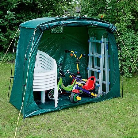 Universal Fahrrad Garage - Camping Vorrat Lagerzelt Garten Geräte Beistell Zelt - Bild 1