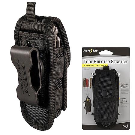 NITE IZE Tool Holster Stretch Multitool Etui Werkzeug Gürtel Messer Clip drehbar - Bild 1