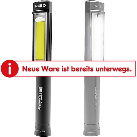 NEBO Big Larry - LED KFZ Werkstatt Magnet Taschen Lampe Inspektionslampe Outdoor Farbe: schwarz - Bild 1