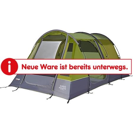 VANGO Tunnelzelt Woburn 400 - Familienzelt 3-4 Personen Zelt Camping mit Vorraum - Bild 1