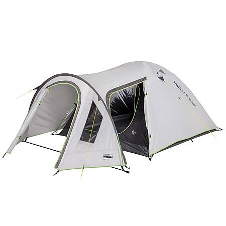 HIGH PEAK Kuppelzelt Kira 3 4 5 Personen Iglu Zelt Camping Trekking Vorraum Modell: Kira 5 - Bild 1