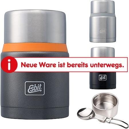 ESBIT Isolierbehälter Food Container - Essenbehälter Foodbehälter Thermobehälter Farbe: stahl/grau - Bild 1