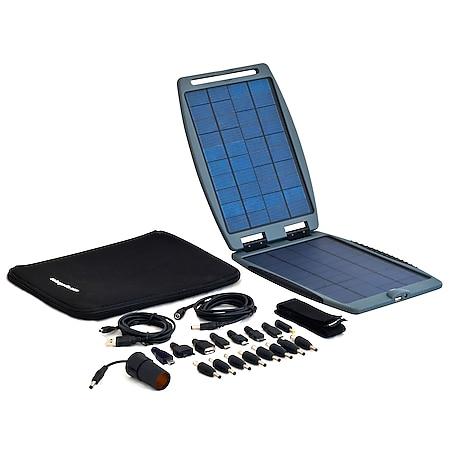POWERTRAVELLER Solarpanel Solargorilla 10W 5V/20V USB Outdoor Ladegerät 2 Ports - Bild 1