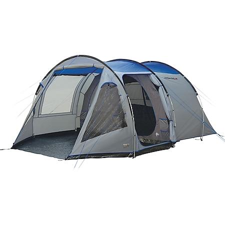 HIGH PEAK Tunnelzelt Alghero 4 Personen Camping Familien Zelt 2 Kabinen Vorraum - Bild 1