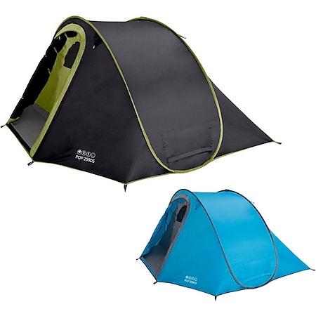 VANGO Pop 200 DS 1-2 Personen PopUp Camping Wurf-Zelt Sekundenzelt Automatikzelt Farbe: blau - Bild 1