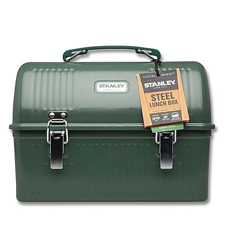 STANLEY Classic Lunch Box 9,4 Liter Hammertone Green Edelstahl Outdoor Brotdose - Bild 1