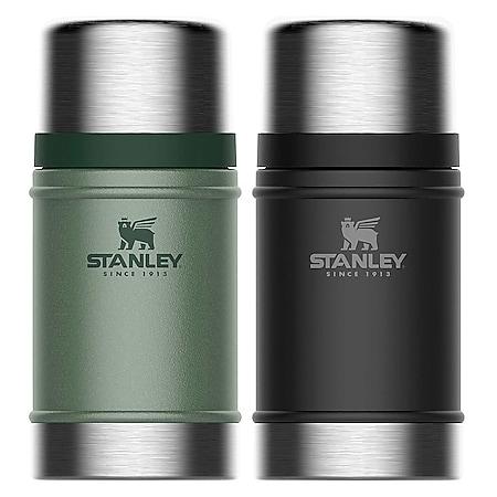 STANLEY Classic Isolierbehälter Essen Thermo Food Behälter Container Vakuum 0,7L Farbe: Grün - Bild 1