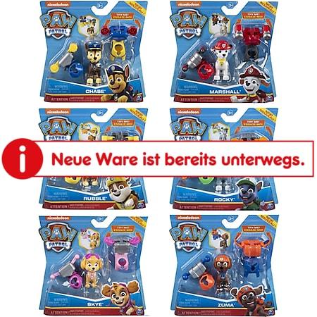 PAW PATROL Action Welpe Spielfigur Actionfigur Kinder Spielzeug Figuren Geschenk Variante: Chase - Bild 1