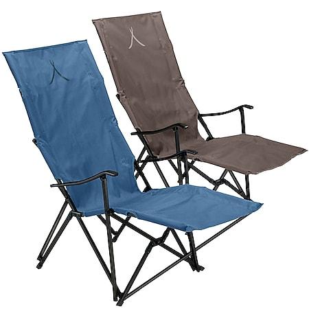 GRAND CANYON El Tovar Hochlehner Lounger Camping Falt Stuhl Armlehne Alu 100 kg Farbe: Falcon - Bild 1