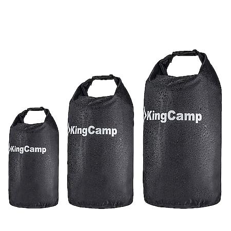 KINGCAMP Dry Bag Camping Packsack Roll Sack Pack Beutel Wasserdicht 15-30 Liter Variante: S - 15 Liter - Bild 1