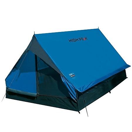 HIGH PEAK Trekkingzelt Minipack 1-2 Personen 1 Mann Camping Zelt Fahrrad 1,6 kg - Bild 1