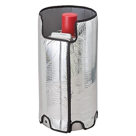 BRUNNER Abdeckhaube Gasflasche Alu Thermohülle Thermo Abdeckung UV Schutz 11kg - Bild 1