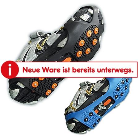 VERIGA City Track -Schuhkrallen -Schneketten f. Schuhe -Schuh Eis Spikes - 36-48 Größe: XL (45-48), Farbe: blau - Bild 1