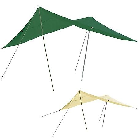 Tarp 3 x 4 m -Sonnensegel -Sonnenschutz -Windschutz -beige grün - UV-Schutz 50 ! Farbe: beige - Bild 1