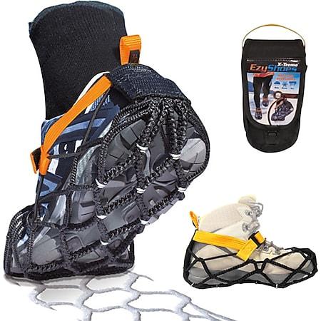 EZY SHOES X-Treme -Schuhkrallen -Eiskrallen -Schneeketten für Schuhe -M L XL XXL Größe: XXL (48-52) - Bild 1