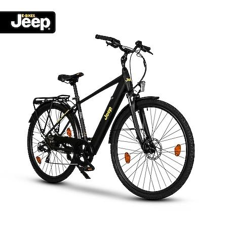 "Jeep Trekking E-Bike TMR 7000, 28"", Shimano Tourney 7-Gang Kettenschaltung, black - Bild 1"
